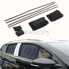 2X Universal Adjustable Car Window Curtain Sun shade Visor Block UV Protection