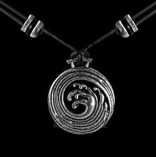 WAVE Oberon Design PEWTER NECKLACE Britannia jewelry pendant PNN55 hokusai