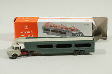 825 Typ 1A/C Wiking PKW-Transporter MB 1413 1968 - 1971 / diamantgrün mit  OVP!