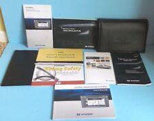 09 2009 Hyundai Sonata owners manual with Navigation