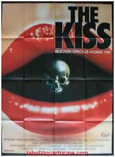 THE KISS Affiche Cinéma Originale French Movie Poster Pen Densham Joanna Pacula