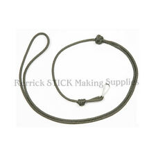 3mm LANYARD FOR WHISTLES,KNIFES MOD OLIVE GREEN No 400