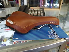 XLC MENS COMFORT BROWN RAILED BICYCLE SEAT