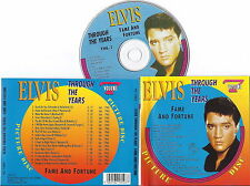 ELVIS PRESLEY - Through The Years Vol.7 Fame And Fortune (Picture Disc) CD RARE