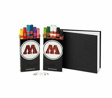 Molotow one 4 all 127 stylos + STYLEFILE A4 blackbook pack-paint marker pens