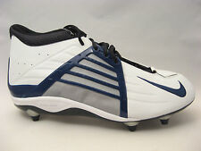 Nike Air Zoom Impact D Football Cleats 16 Alpha Project White Navy Blue Black