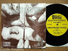 Green Magnet School / God's Acre ‎– Noise From Nowhere Volume 5    7""