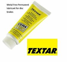 TEXTAR Cera Tec Metal Free Anti-Squeal Disc Brake Grease ABS Brakes 75ml Tube