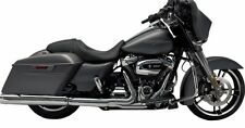 "SUPERTRAPP/KERKER Stout Slip On Mufflers 4"" Chrome For Harley 2017 Milwaukee 8"
