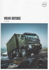 VOLVO FMX 2016 4x4 6x6 SWEDISH ARMY MILITARY VOLVO DEFENSE BROCHURE PROSPEKT