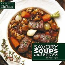 Savory Soups and Stews (Rodale's New Classics)-ExLibrary