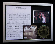 EMINEM+RIHANNA The Monster GALLERY QUALITY CD FRAMED DISPLAY+EXPRESS GLOBAL SHIP