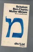Shalom Ben-Chorin-madre Mirjam - 1983
