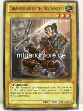 Yu-Gi-Oh - 3x Chamberlain of the Six Samurai YS13 - Super Starter V for Victory