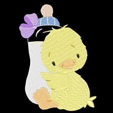 SWEET BABY DUCKIES - 20 MACHINE EMBROIDERY DESIGNS (AZEB)