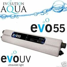 EVOLUTION AQUA evoUV GARDEN KOI POND PROFESSIONAL UV CLARIFIER UVC FILTER UNIT