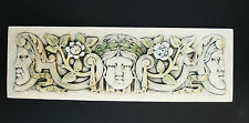 PHASES OF THE MOON  FACES  GARDEN PLAQUE   ARTS & CRAFTS  ART DECO  ELLISON TILE