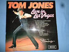 TOM JONES live in Las Vegas TOM JONES 1969 -Gebrauchte Schallplatte Vinyl LP