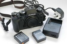 Fujifilm X-T1 16.3 MP Digital SLR body + cap, strap, 2 batteries, charger, 16GB