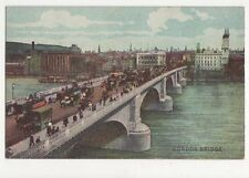 London Bridge 1907 Postcard 166a