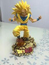 DBZ-DRAGON BALL Z  SSJ 3 GOKU Resin statue figure  28CM