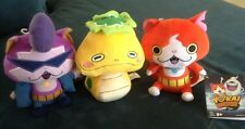 "YO KAI WATCH 6"" PLUSH DOLLS Jibayan,Baddinyan,Noko set of 3 japanese manga Anime"