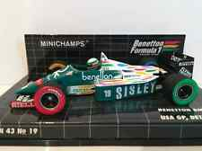 Minichamps 400 860019 Benetton BMW B186 USA GP 1986 T Fabi NEW