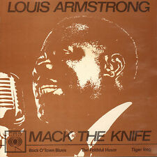 "LOUIS ARMSTRONG - Mack The Knife (1962 VINYL EP 7"" DUTCH PS)"
