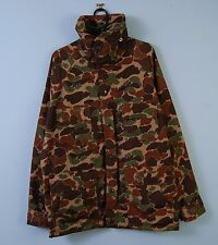 Vintage Trophy Club Camo Hunting Jacket Outdoor Waterproof Coat Small