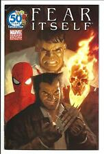 FEAR ITSELF # 1 (PAULO RIVERA, FANTASTIC FOUR VARIANT COVER - JUN 2011) VF-