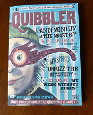 5 x 8 Quibbler magazine. 12 full colour pages. Harry Potter movie prop.
