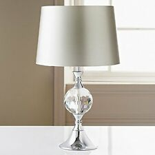 Duchess Glass Crystal & Chrome Table Lamp - Different Shades Available