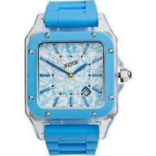 Urbanz Electric Blue Date Display Fashion Wrist Watch