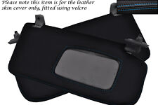 BLUE STITCH FITS SUBARU IMPREZA WRX STI 2001-2004 2X SUN VISORS LEATHER COVERS