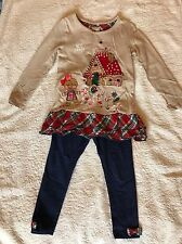 Girls Long Sleeve Top And Leggings Outfit Age 2-3 Years