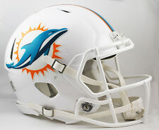 MIAMI DOLPHINS NFL Riddell SPEED Full Size AUTHENTIC Football Helmet