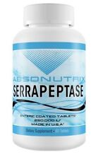 Absonutrix SERRAPEPTASE 250,000 IU Enteric Coated Tablets Joint Pain 60 Capsules