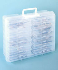 Stackable Photo Organizer Case with Handle Holds 1,600 4 x 6 Photos Acid-Free