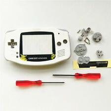 Big Pikachu Housing Shell Case Pack For Nintendo Game boy Advance GBA - White