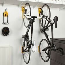 Cycloc Endo Vertical Wall Mounted Flat Folding Bike Storage Holder Rack White