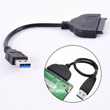 USB 3.0 External SATA 3Gbps 22 Pin Cable Adapter Connecter Hard Drive Great Top
