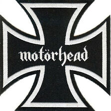 Motorhead Iron Cross Patch Lemmy Rock 'n' Roll Sex Pistols Tank Headcat Tank