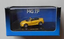 YELLOW MG TF Convetible RICKO 1:87 Diecast Minature Car HO Scale
