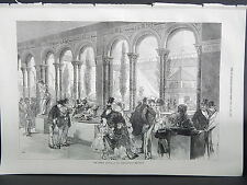 Illustrated London News Full-Page S8068 Sep 1871 The French Annexe at Exhibition