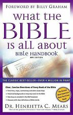 What the Bible is All About: Bible Handbook: NIV Edition by Mears, Henrietta C.,