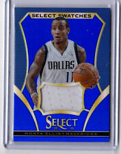 2013-14 Select *SELECT SWATCHES* Monta Ellis Jersey Blue 11/35 1/1 Jersey Number