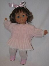 "Cute 14"" Vinyl/Cloth Lissi Doll Made In Italy"
