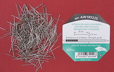 18mm x 0.52mm 400 pins STAINLESS STEEL LACE MAKING/BRIDAL/SATIN/WEDDING PINS