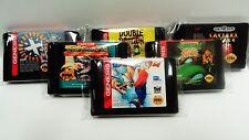 100 CARTRIDGE BAGS N64, FAMICOM, ATARI AND SEGA GENESIS / MASTER   PROTECT GAMES