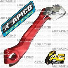 Apico Red Rear Foot Brake Pedal Lever For Jotagas Trial 125 2012 12 Trials New